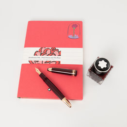 Montblanc Montblanc Le Petit Prince and Planet Happy Holiday Gift Set (Fountain Pen, Notebook and Bottled Ink)