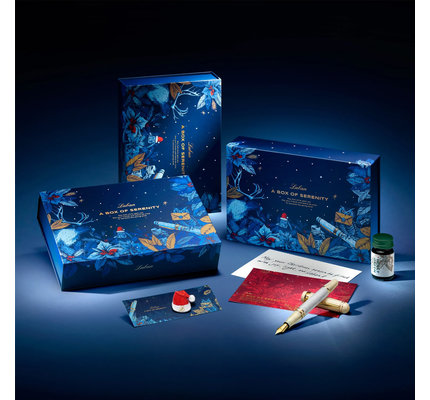 Laban Laban Christmas Snow Fountain Pen Gift Set