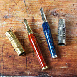 Montegrappa Montegrappa Limited Edition Ten Commandments Red  with Vermeil Fountain Pen Medium