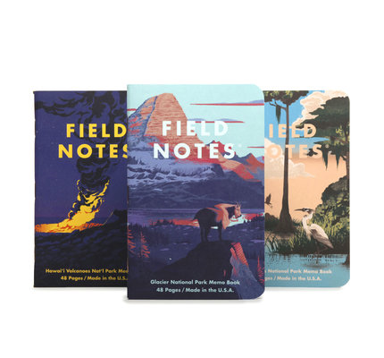 Field Notes Field Notes National Parks Series F: Glacier, Hawai'i Volcanoes, Everglades