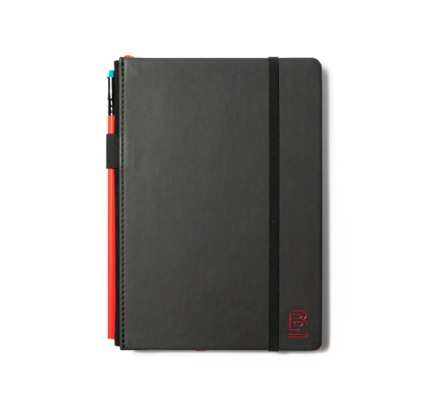 Blackwing Blackwing Volume 6 Medium Slate Notebook Dot Grid