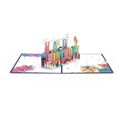 Lovepop Lovepop Happy Birthday 3D Card