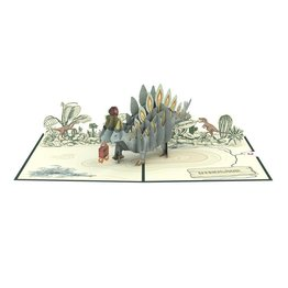 Lovepop Lovepop Happy Birthday Stegosaurus 3D Card