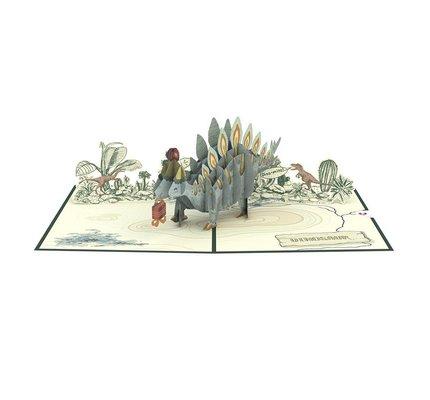 Lovepop Lovepop Happy Birthday Stegosaurus 3D Card