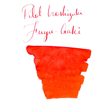 Pilot Pilot Iroshizuku Fuyu-Gaki Winter Persimmon - 50ml Bottled Ink