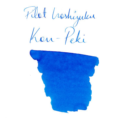 Pilot Pilot Iroshizuku Kon-Peki Cerulean Blue - 50ml Bottled Ink
