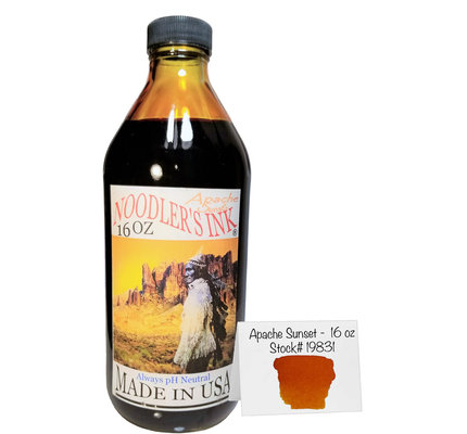 Noodler's Noodler's Apache Sunset Bottled Ink - 16 oz