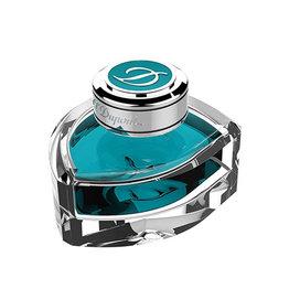 S. T. Dupont S.T. Dupont Turquoise Blue Bottled Ink - 70ml