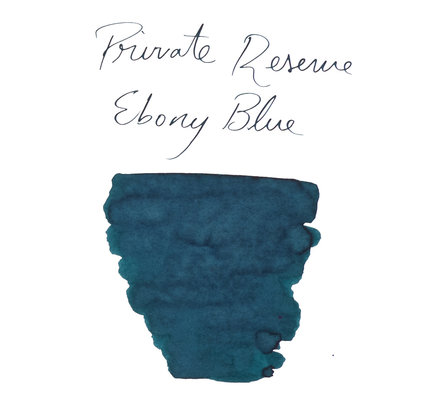 Private Reserve Private Reserve Ebony Blue Bottled Ink - 60ml