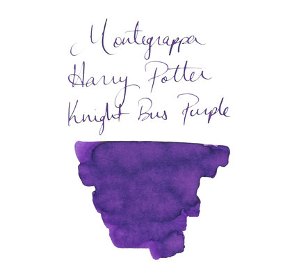 Montegrappa Montegrappa Harry Potter Limited Edition Bottled Ink 50ml Knight Bus Purple