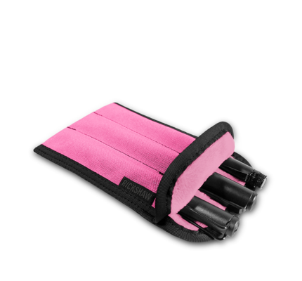 Rickshaw 3-Pen Coozy Bright Pink Pen Sleeve Long
