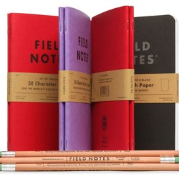 Field Notes Field Notes Adventure Set (2 Character Journals, 1 Game Master, 1 Pitch Black Large Dot, 1 Pencil Pack)