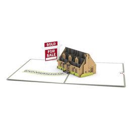 Lovepop Lovepop House For Sale 3D Card