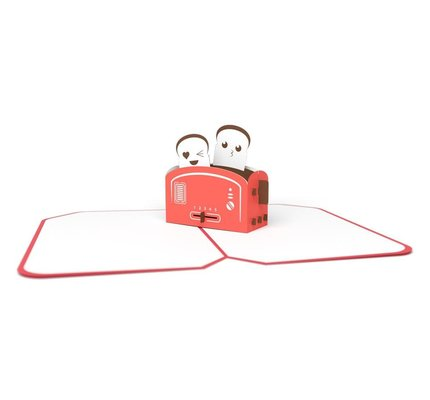 Lovepop Lovepop Love Toaster 3D Card