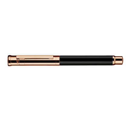 Otto Hutt Otto Hutt Design 04 Black and Rose Gold Fountain Pen