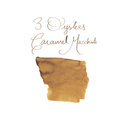 3 Oysters 3 Oysters Delicious Caramel Macchiato  Bottled Ink - 38ml
