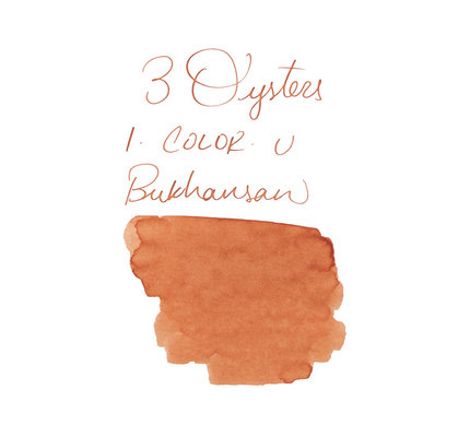 3 Oysters 3 Oysters I-Color Bukhansan Mountain Orange Bottled Ink - 38ml