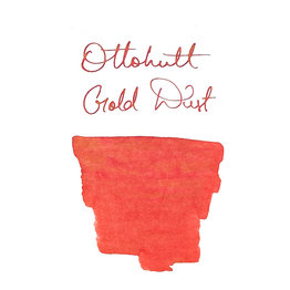 Otto Hutt Otto Hutt Bottled Ink 30ml Red with Gold Particles