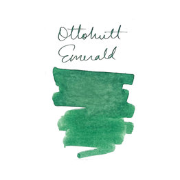 Otto Hutt Otto Hutt Bottled Ink 30ml Emerald Green