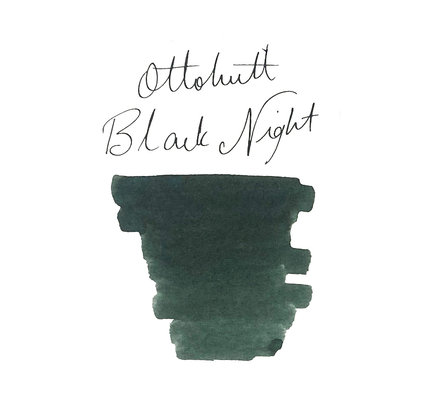Otto Hutt Otto Hutt Bottled Ink 30ml Black Night