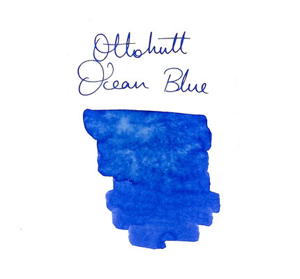 Otto Hutt Otto Hutt Bottled Ink 30ml Ocean Blue