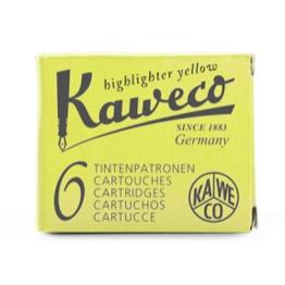 Kaweco Kaweco Ink Cartridges Glowing Yellow