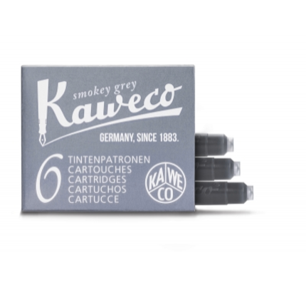 Kaweco Kaweco Ink Cartridges Smokey Grey