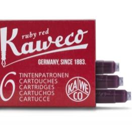 Kaweco Kaweco Ink Cartridges Ruby Red