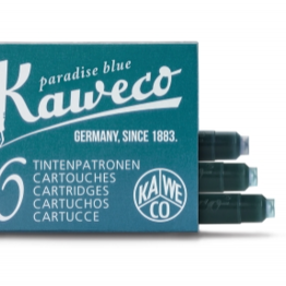 Kaweco Kaweco Ink Cartridges Paradise Blue (Turquoise)