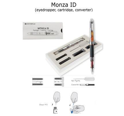 Monteverde Monteverde Monza ID Clear Flex Nib Fountain Pen