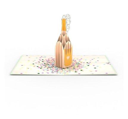 Lovepop Lovepop Champagne Pop Greeting Card