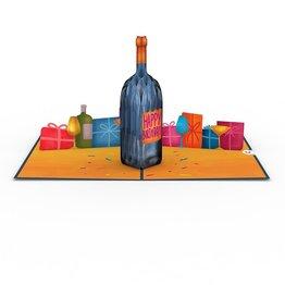 Lovepop Lovepop Vintage Wine Birthday Greeting Card