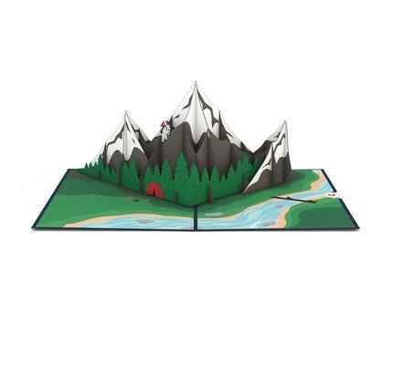 Lovepop Lovepop Mountains Greeting Card