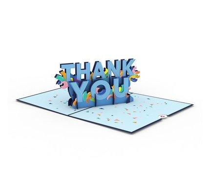 Lovepop Lovepop Confetti Thank You Greeting Card