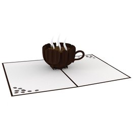 Lovepop Lovepop Coffee Cup Greeting Card