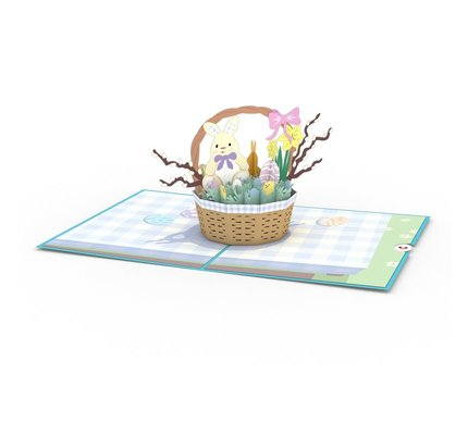 Lovepop Lovepop Easter Basket Greeting Card