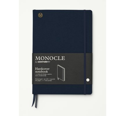 Leuchtturm1917 Leuchtturm1917 Monocle Hardcover Notebook Composition (B5) Dotted