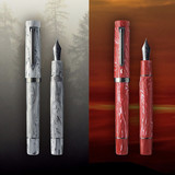 Sailor Sailor Bespoke Limited Edition Luminous Shadow Dusk Red Fountain Pen