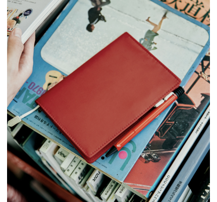 Hobonichi Hobonichi BS Lite Red A6 Cover Only