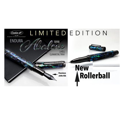 Conklin Conklin Limited Edition Endura Abalone with Gunmetal Trim Fountain Pen