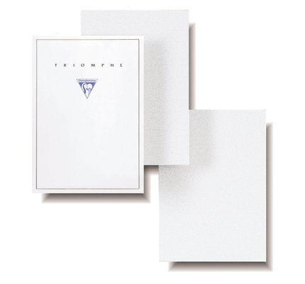 Clairefontaine Clairefontaine Triomphe Small Stationery Tablet Blank (50 Sheets)