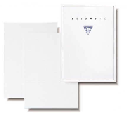Clairefontaine Clairefontaine Triomphe Small Stationery Tablet Ruled (50 Sheets)