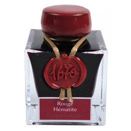 "J. Herbin J. Herbin ""1670"" Rouge Hematite (Red Hematite) -  50ml Bottled Ink"