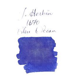 """J. Herbin J. Herbin """"1670"""" Bleu Ocean (Blue Ocean) -  50ml Bottled Ink"""