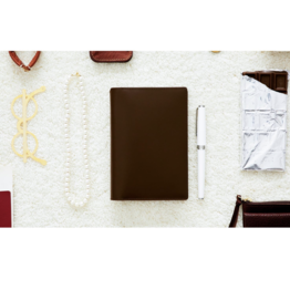 Hobonichi Hobonichi A6 Techo 2021 Agenda Leather: Travel (Chocolate)