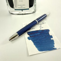 Pilot Pre-Owned Pilot Decimo Navy Fountain Pen Fine