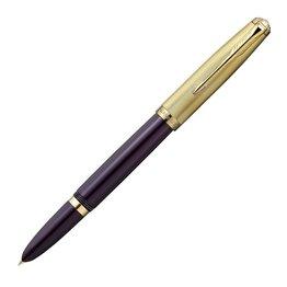 Parker Parker 51 Deluxe Plum with Gold Trim Fountain Pen