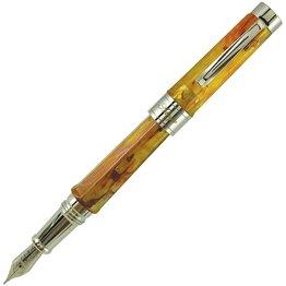 Stipula Adagio Amber Fountain Pen