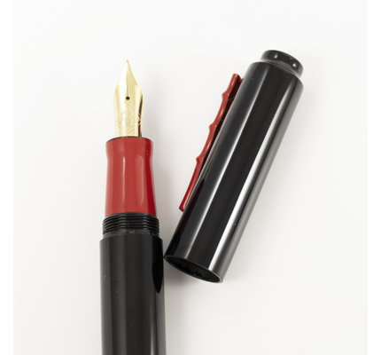 Ap Limited AP Limited Urushi Black Red Fountain Pen