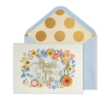 NIQUEA.D NIQUEA.D Thank You Wreath Thank You Card